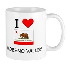I Love Moreno Valley California Mugs