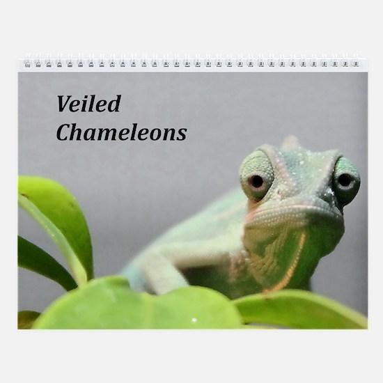 Wall Calendar-Chameleons