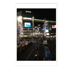Shibuya At Night Postcards (Package of 8)