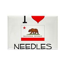 I Love Needles California Magnets