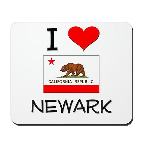 I Love Newark California Mousepad