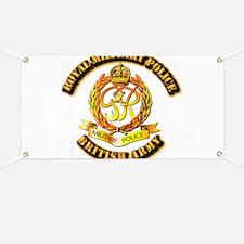 Royal Military Police - UK - w Txt Banner