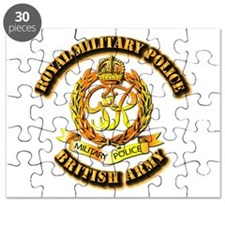 Royal Military Police - UK - w Txt Puzzle