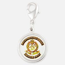 Royal Military Police - UK - w Txt Silver Round Ch