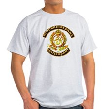 Royal Military Police - UK - w Txt T-Shirt