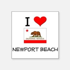 I Love Newport Beach California Sticker
