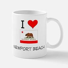 I Love Newport Beach California Mugs