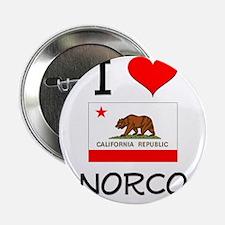 """I Love Norco California 2.25"""" Button"""