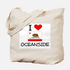 I Love Oceanside California Tote Bag