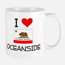 I Love Oceanside California Mugs