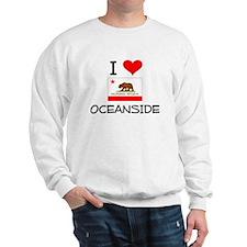 I Love Oceanside California Sweatshirt