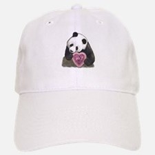 """Panda with a Heart for you"" Baseball Baseball Cap"