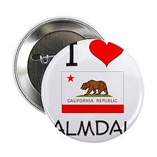 """I Love Palmdale California 2.25"""" Button"""
