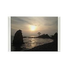 Tateishi Sunset 2 Rectangle Magnet