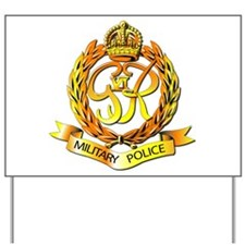 Royal Military Police - UK Yard Sign