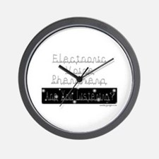 Electronic Voice Phenomena Wall Clock