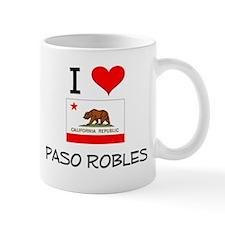 I Love Paso Robles California Mugs