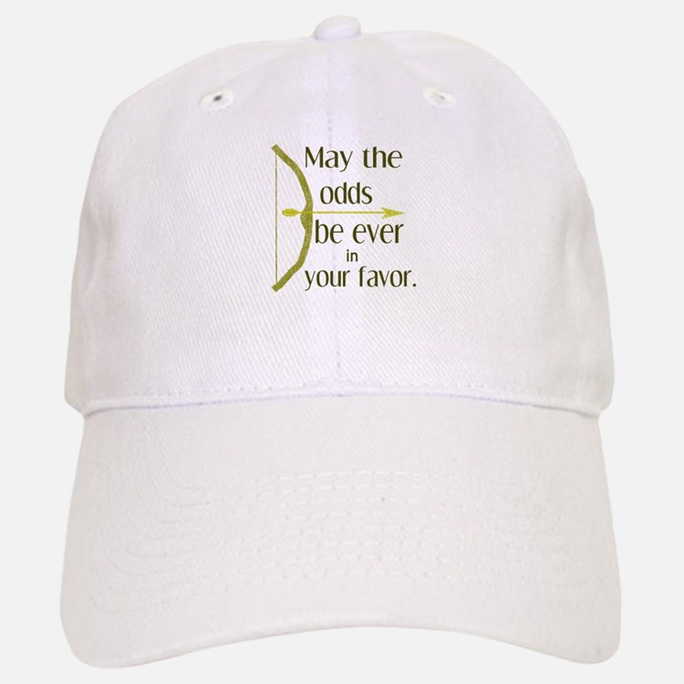 Odds Favor Bow Arrow Baseball Baseball Cap