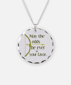 Odds Favor Bow Arrow Necklace