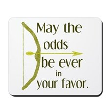 Odds Favor Bow Arrow Mousepad
