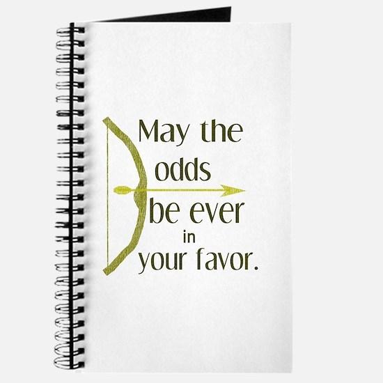Odds Favor Bow Arrow Journal