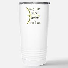 Odds Favor Bow Arrow Travel Mug