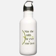 Odds Favor Bow Arrow Water Bottle