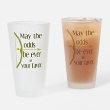 Odds Favor Bow Arrow Drinking Glass