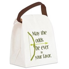 Odds Favor Bow Arrow Canvas Lunch Bag