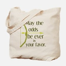 Odds Favor Bow Arrow Tote Bag