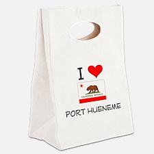 I Love Port Hueneme California Canvas Lunch Tote