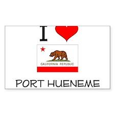 I Love Port Hueneme California Decal