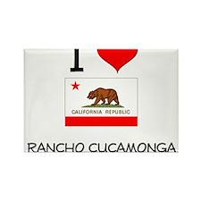 I Love Rancho Cucamonga California Magnets