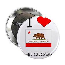 "I Love Rancho Cucamonga California 2.25"" Button"
