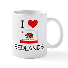 I Love Redlands California Mugs