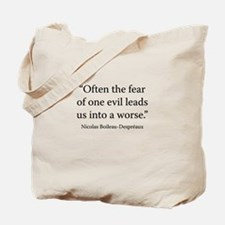 The Art of Poetry, 1674 Tote Bag