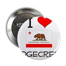 "I Love Ridgecrest California 2.25"" Button"