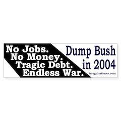 No Jobs No Money Tragic Debt and War