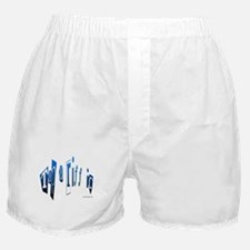 Tap a riff ic - Blue Boxer Shorts