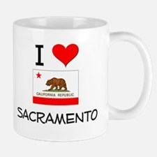 I Love Sacramento California Mugs