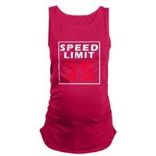 Speed Limit 35 Maternity Tank Top