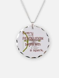 Revolution Spark Bow Arrow Necklace