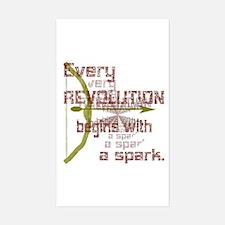 Revolution Spark Bow Arrow Decal
