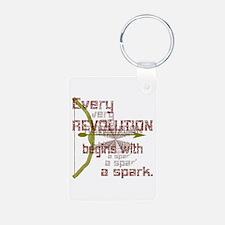 Revolution Spark Bow Arrow Keychains