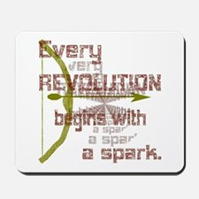 Revolution Spark Bow Arrow Mousepad