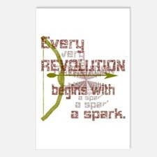 Revolution Spark Bow Arrow Postcards (Package of 8