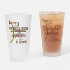 Revolution Spark Bow Arrow Drinking Glass