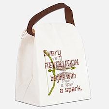 Revolution Spark Bow Arrow Canvas Lunch Bag