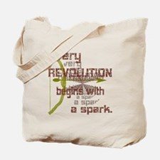 Revolution Spark Bow Arrow Tote Bag