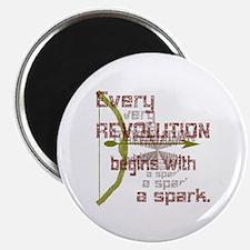 Revolution Spark Bow Arrow Magnet